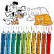 Cat and Dog Coloring Book Kid