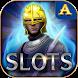 Platinum & Gold Slot Machine by Aurora Loft