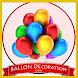 Balloon Decoration Ideas by delisa