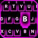 Pink Neon Emoji Keyboard by Emoji Colorful Keyboard