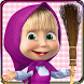 Masha and the Bear: House Cleaning Games for Girls by Indigo Kids Education Games