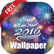 Happy New Year Wallpaper 2016 by Omar Sennoun