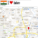 Indore map by Borgo Map