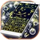 Fireflies Spiral Keyboard by Themes World