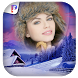 Snowfall Photo Frames by PicFrames