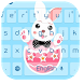 Easter Bunny Run Keyboard by live wallpaper collection