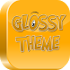 Glossy launcher and theme by ZOOZIMPS THEME