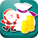 Christmas Coin by dark madness