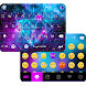 Galaxy Sparkle Emoji Keyboard by Best Keyboard Theme Studio