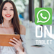 Guide WhatsApp on tablet VIP by APPSDEVAR