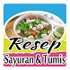 Resep Sayuran dan Tumis by DarAddict