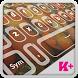 Keyboard Plus Pumpkin HD theme by thememasters
