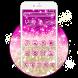 kawai Salmon Pink Glitter Theme