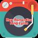 Rap Romantico Song Lyrics by Lope Musica