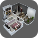 3D House Floor Plans by Yashan