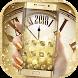 Golden Luxury Roman Clock 2018 Theme by Fabulous Theme Wallpapers