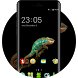Free Lizard Wallpaper Animal Theme for Oppo F3 by Mobo Theme Apps Team