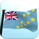 Tuvalu Flag 3D Free Wallpaper by I Like My Country - Flag