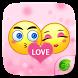 GO Keyboard Sticker Love Emoji by Jiubang