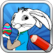 Easter Bunny Hop Coloring Game by Floy 44 Appz