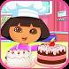 Little Dora Birthday Cake by Katcatapps