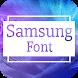 Samsung Font for FlipFont , Cool Fonts Text Free by Free FlipFont Studio