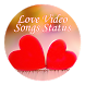 Love Video song status : lyrical video song by Appsmania
