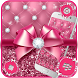 Luxury Pink Bowknot Theme by Launcher Fantasy