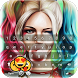 Harley Quinn Keyboard Theme by Golden Themes Studio