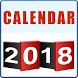 Calendar 2018 - Happy New Year 2018 Calendar by MianApps
