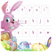Easter Bunny Keyboard Free by live wallpaper collection