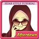 Hijab Style Tutorial Ideas by Afterdawnapps