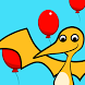 Dinosaur Balloon Bounce Count by Flying Walrus Productions