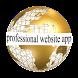 Professional Website App by BG_Games