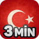 Learn Turkish in 3 Minutes by 3-MIN-SOFTWARE