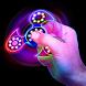 Neon Glow Fidget Spinner by VooApps