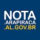 Nota Fiscal - Arapiraca by Prefeitura Municipal de Arapiraca