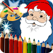 Christmas Coloring Page - Kids by salon games for girls