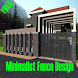 Minimalist Fence Design by BerkahMadani