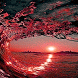 Red Waves Live Wallpaper by Daksh Apps
