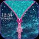 Glitter Zipper Screen Lock by Redix Apps Studio