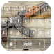 Cool Gun Theme Keyboard by live wallpaper collection