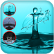 Water drop ripple effect by Osis Apps