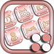 Pink Launcher With Girly Rose Gold Themes