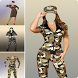 Army Women Photo Suit by QuickDeveloper