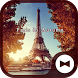Beautiful Wallpaper Paris in Autumn Theme by +HOME by Ateam