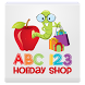 ABC123 Holiday Shop by Little Treasures