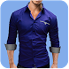 Man Casual Shirt Photo Suit 2