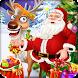 Christmas Santa Care Reindeer by lemonbab
