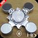 Fidget spinners lock screen HD by TECKKING
